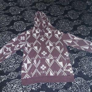 On the byas hoodie